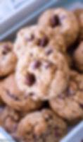Oatmeal-Chocolate-Covered-Raisin-Cookies