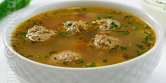 Romanian Meatball Soup (Ciorba de Periso