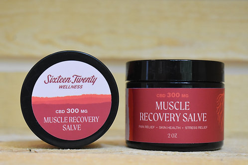 2 OZ 300 mg CBD MUSCLE RECOVERY SALVE