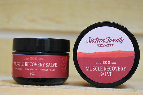 1 OZ 300MG CBD MUSCLE RECOVERY SALVE