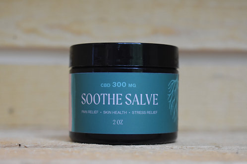 2 OZ 300 mg CBD SOOTHE SALVE