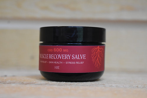 1 OZ 600MG CBD MUSCLE RECOVERY SALVE