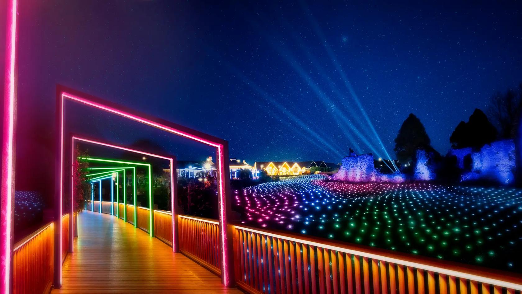 Enchanted Lights - Kildare Village