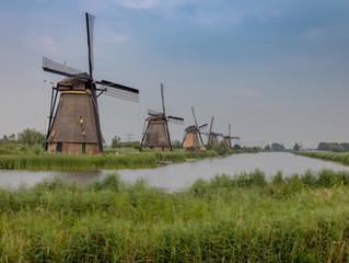 Windmühlen und neuer Hering