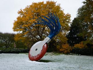 Schnee, Museen und Musik