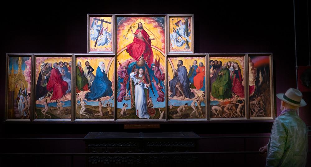 Altar-Bild im Museum des Hôtel Dieu