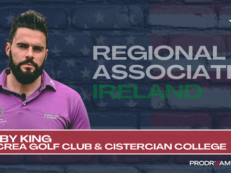 PRODREAMUSA GROWS REGIONAL TEAM WITH APPOINTMENT OF BOBBY KING IN IRELAND