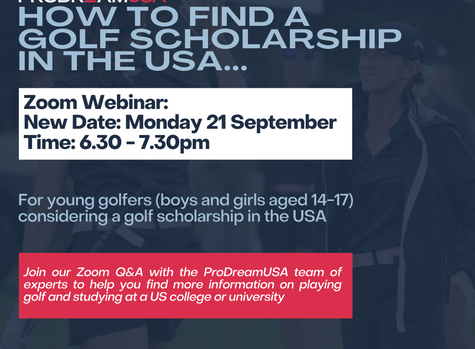 #WEBINAR: ALL YOU NEED TO KNOW ABOUT GOLF SCHOLARSHIPS IN THE USA