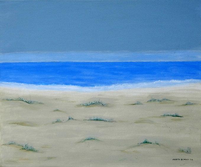 Strand 55 x 65, blau, türkis
