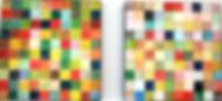 farbenfreude 2 je 40 x 40 Regenbogenfarben