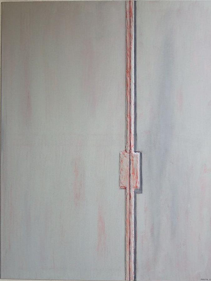 tür 100 x 100 grau, rot