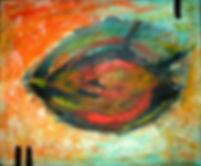 deep blue 50 x 60 bunt - Fisch in der Tiefsee