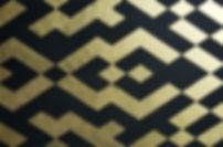 duo ii 80 x 120 schwarz mit Blattgold
