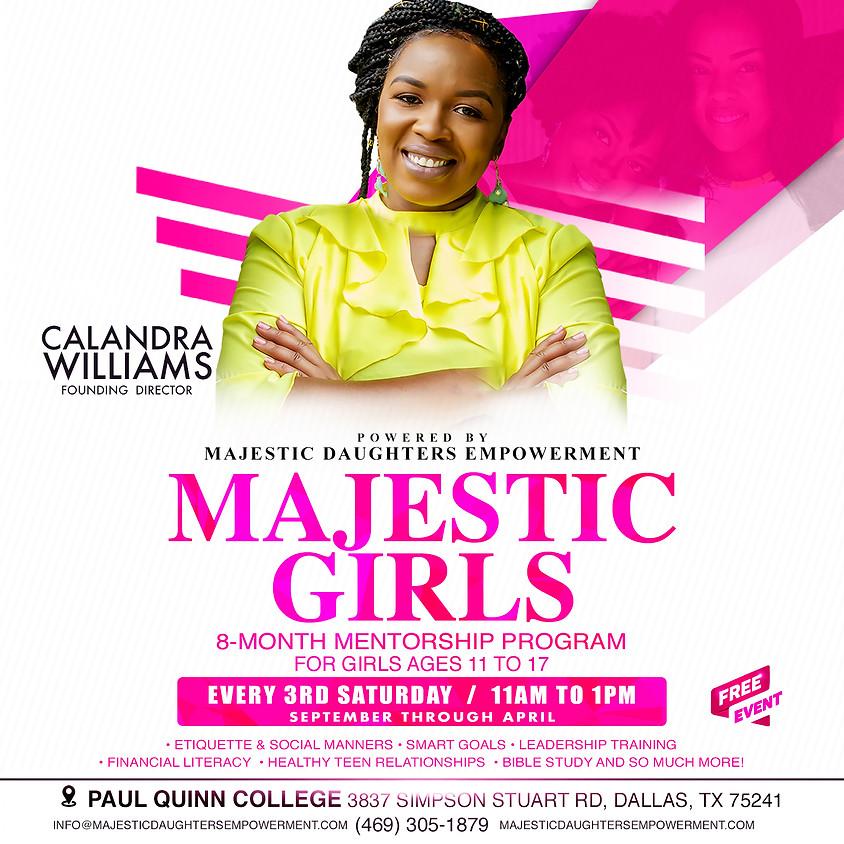 Majestic Girls Teen Mentorship Program