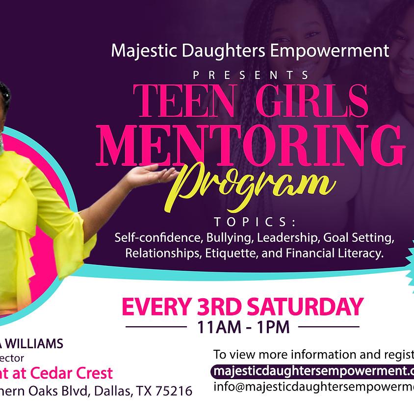 Teen Girls Mentoring Program  (1)