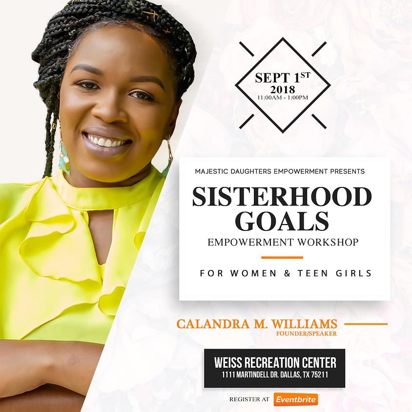 Sisterhood Goals Empowerment Workshop