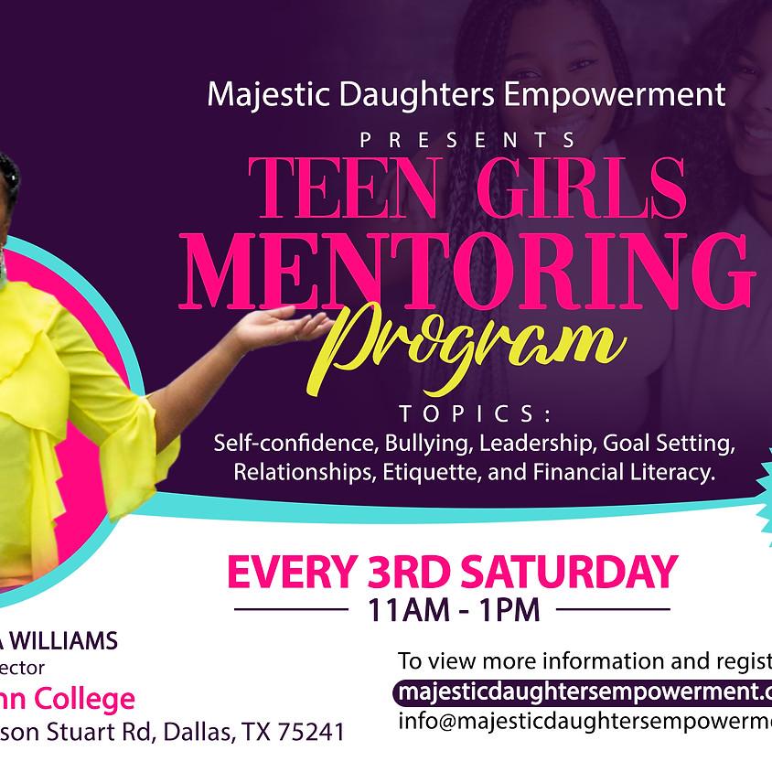 Teen Girls Mentoring Program