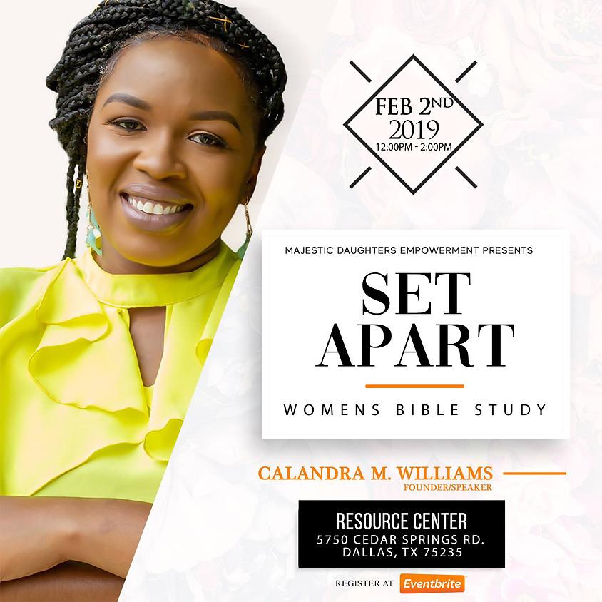 Set Apart Women's Bible Study