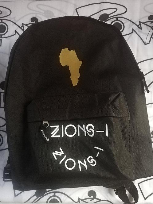 Zions-i logo rucksack bag