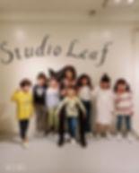 今週末にスタジオクローズとなる為、26(木)今年度最後のmini kidsクラス