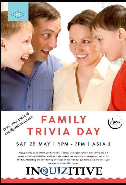 family quiz, family trivia jaxs bistro, hollandse club