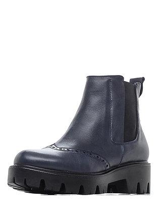 Ботинки №974-22 син.