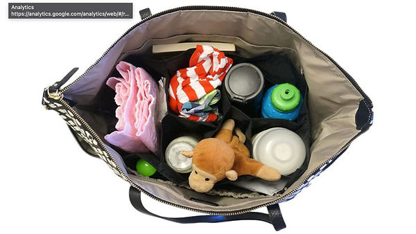 How to turn your handbag into a baby changing bag: 3 top tips