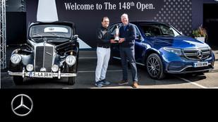 Mercedes-Benz: Return of the Claret Jug