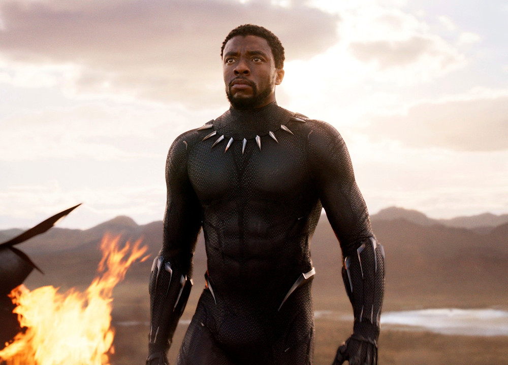 "Chadwick Boseman in a scene from ""Black Panther.""Credit...Marvel Studios, via Associated Press"