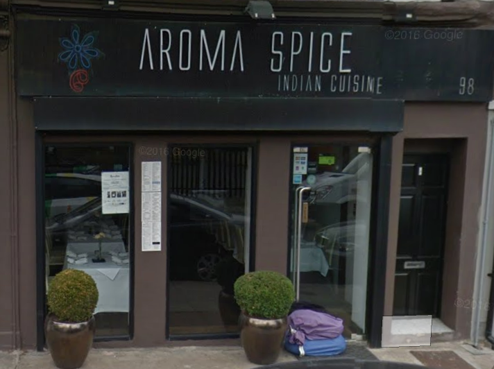 Outside of Aroma Spice 2