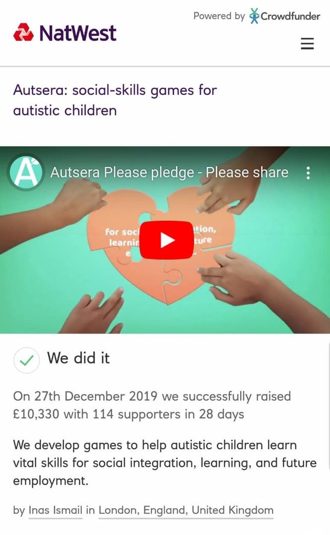 Autsera funding 2