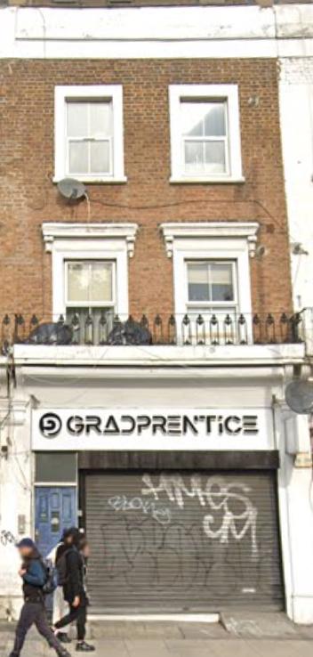 Gradprentice office in London