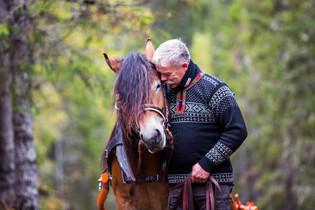 Hestefotografering, dølahest og arbeidssele, Namsos