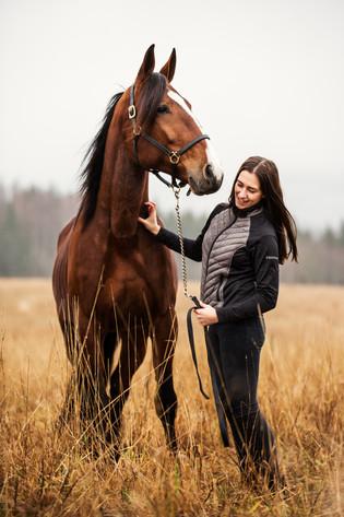 Hestefotografering i Nittedal