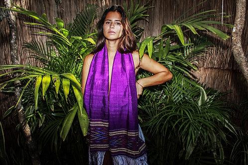 GAHARASU silk shawl