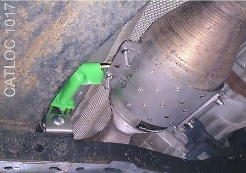 Toyota Hilux Catalytic Converter Lock Euro 4 Emission System  CATLOC® 1017