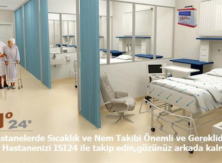 Hastane İçinde Özel Havalandırma Gereken Bölümler