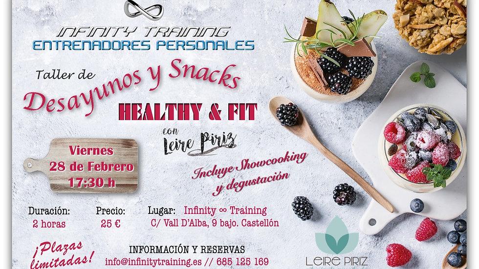 Desayunos y Snacks HEALTHY & FIT