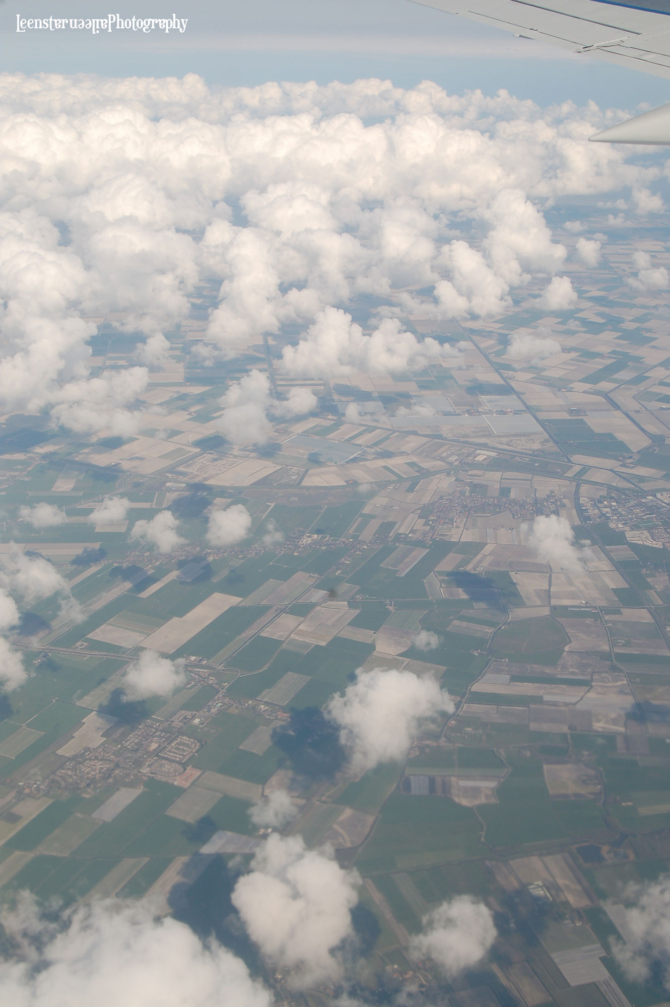 Flying over Holland