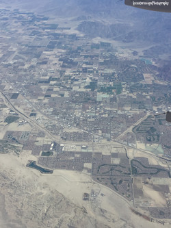 Flying over New Mexico