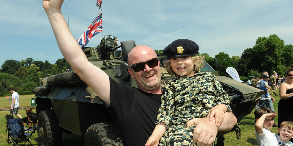 Armed Forces Day in association with K2 Services - CANCELLED