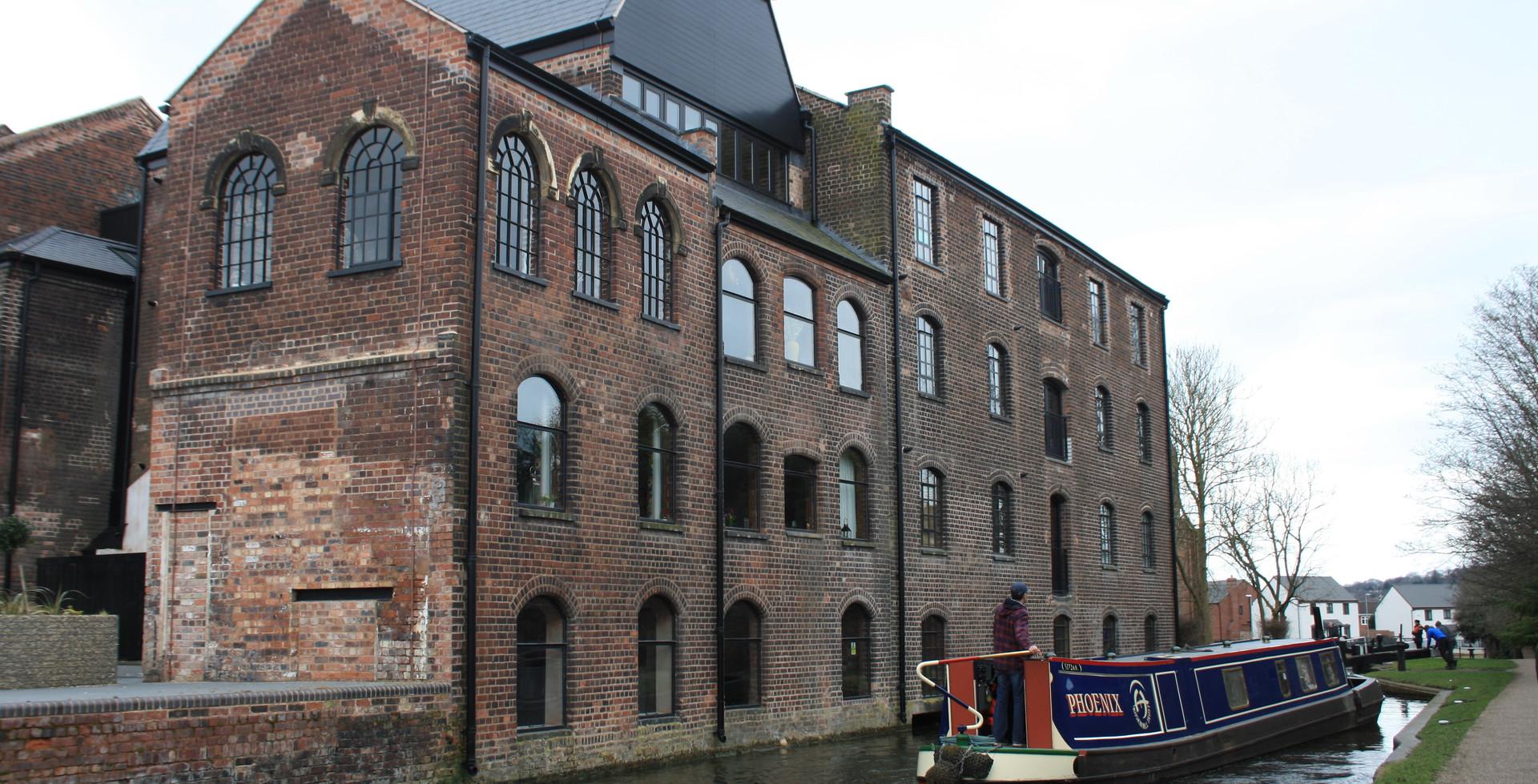 Former Stuart Crystal factory