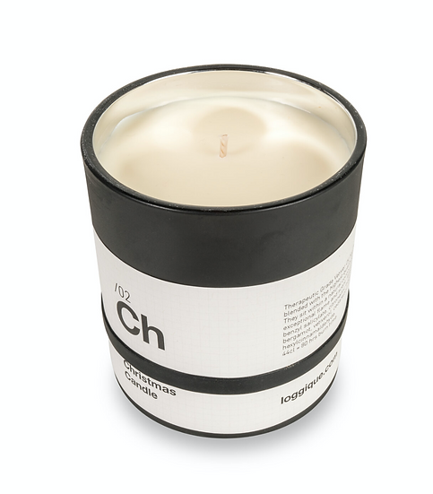 Ch/02 Christmas Candle 44cl Vetiver and Fir