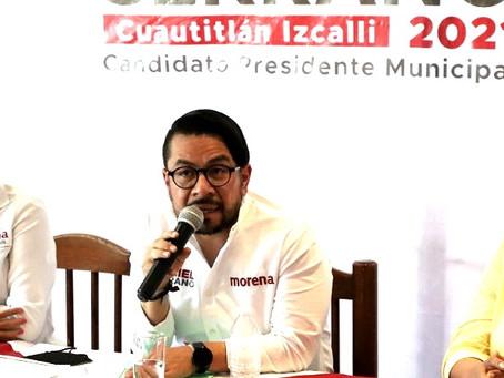 """""""Cero tolerancia a quienes ejerzan violencia de género"""", advierte Daniel Serrano Palacios"""