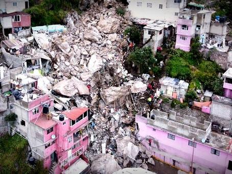 Raciel Pérez Cruz, solo autorizó 10 millones de pesos para damnificados del Cerro del Chiquihuite