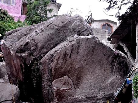 Gobierno de Raciel Pérez Cruz, ignoró quejas de los vecinos por deslaves en el Cerro del Chiquihuite