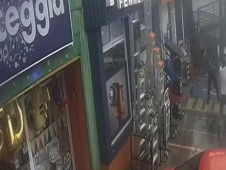 Momento en que asesinan a comandante en Cuautitlán Izcalli