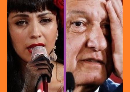 Mon Laferte critica a López Obrador…y la despedazan en las redes sociales