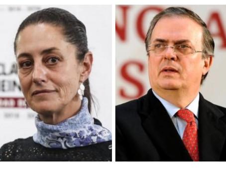 Guerra total entre Claudia Sheinbaum y Marcelo Ebrard