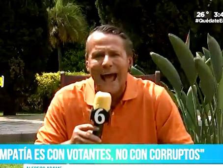 Alfredo Adame arma escándalo en entrevista